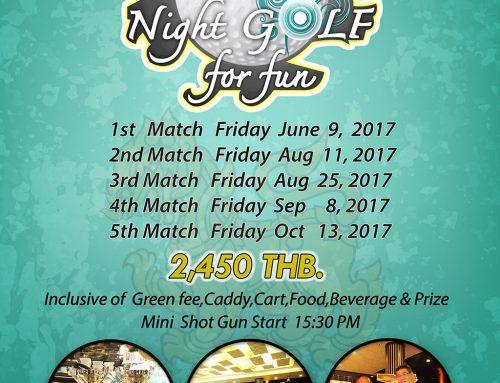 SINGHA NIGHT GOLF FOR FUN 2017
