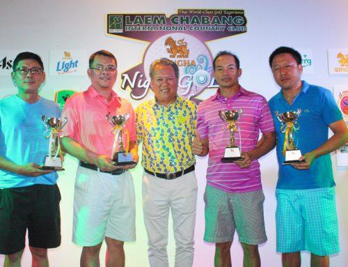 ผลการแข่งขัน และบรรยากาศการแข่งขัน สิงห์ไนท์กอล์ฟ ฟอร์ฟัน  ครั้งที่ 1 แมทซ์แรก วันศุกร์ที่ 9 มิถุนายน 2560