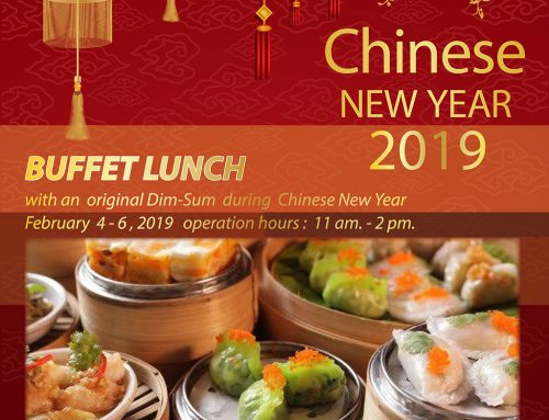 Don't miss it!!! Special menu Dim-Sum during Chinese New Year 2019  Tel: +66(85) 155 1495 ext 422