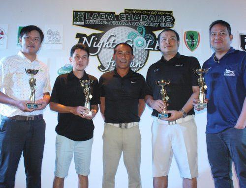 ผลการแข่งขัน และภาพบบรรยากาศการเเข่งขัน Singha Night Golf For Fun ครั้งที่ 3 วันที่ศุกร์ 14 กันยายน 2561