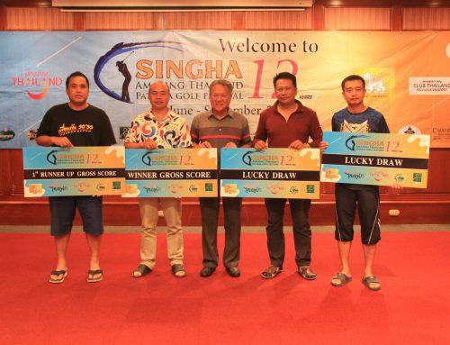 """ผลการแข่งขัน และภาพบรรยากาศเเข่งขันกอล์ฟ """"Singha Amazing thailand Pattaya Golf Festival 2019"""" วันที่ 7 กันยายน 2562 ณ สนามกอล์ฟแหลมฉบัง อินเตอร์เนชั่นเเนล คันทรีคลับ"""